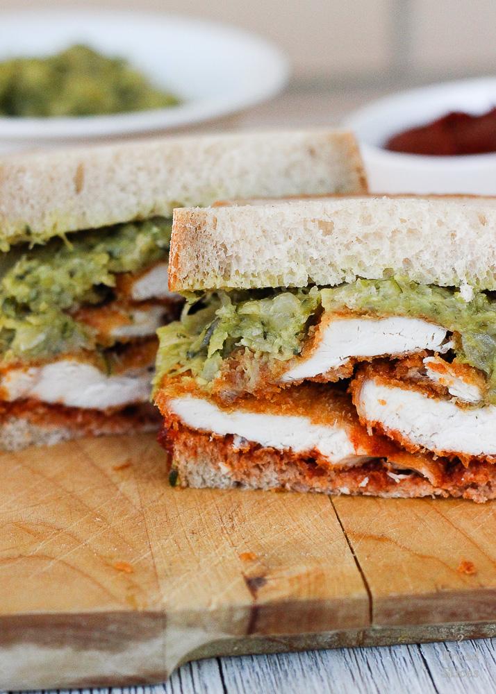 sandwich pollo ketchup calabacín1