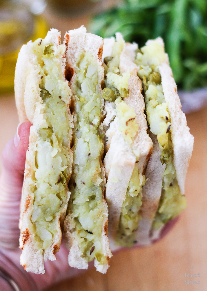 Sandwich patata y guisantes2