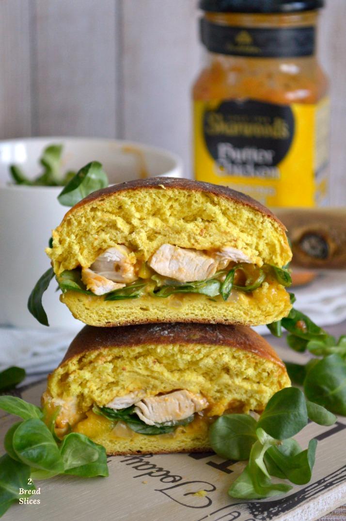 Butter Chicken Sandwich
