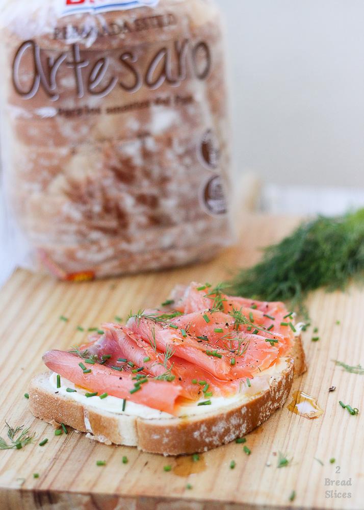 (Open) Sandwich de Salmón y Mascarpone