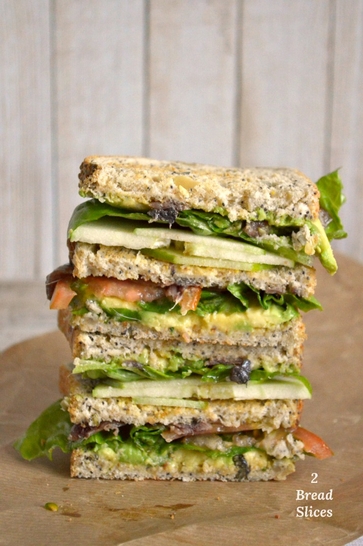 Sandwich de Anchoas y Manzana