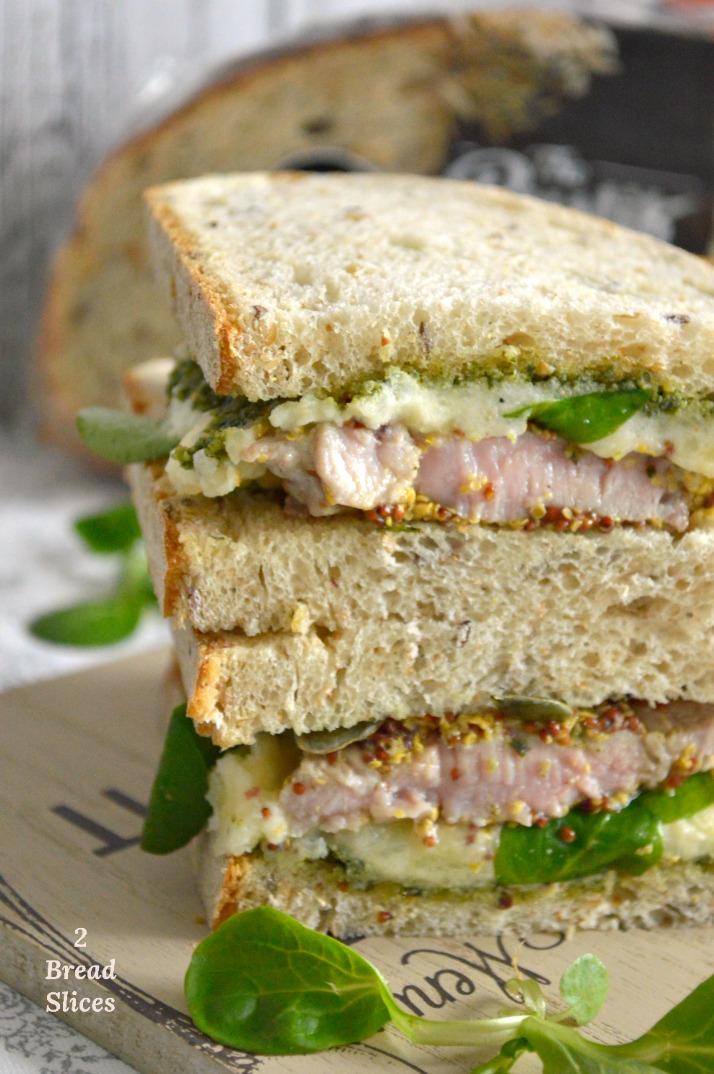 Sandwich de Solomillo y Pesto de Calabaza