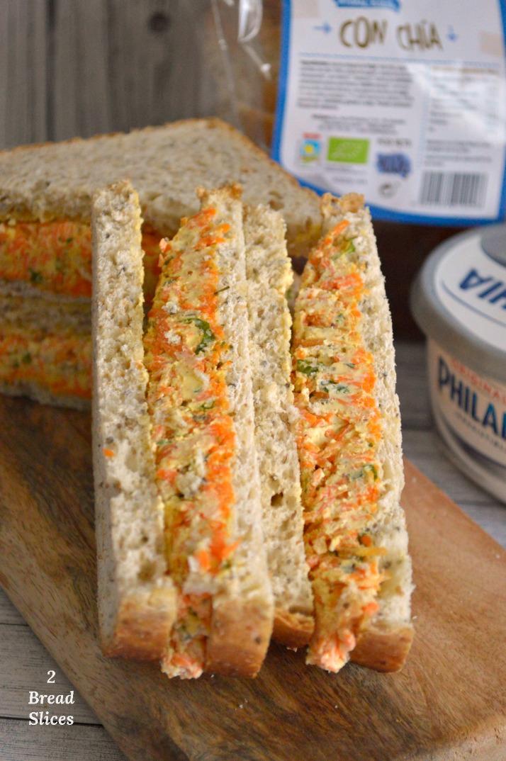Sandwich de Zanahoria