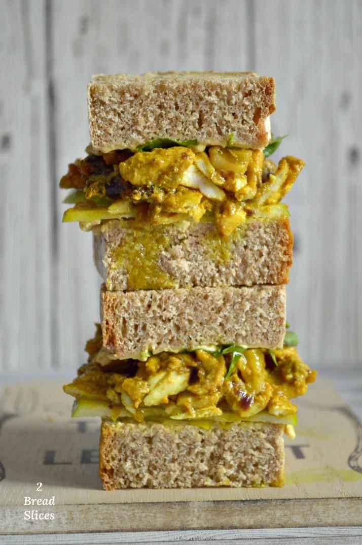 Sandwich de Pollo Especiado