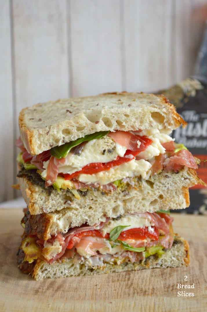 Sandwich de Coppa Italiana y Tapenade