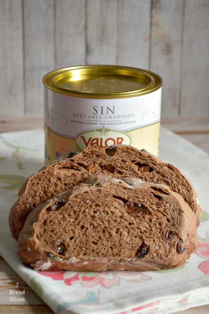 Pan de Chocolate y Pasas