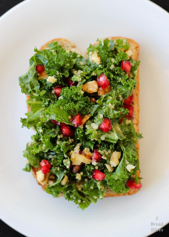 Kale quinoa granada