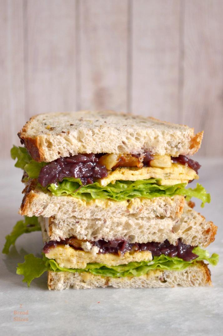 Sandwich de Berenjena Frita