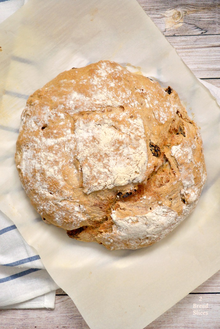 Pan de Canela y Pasas