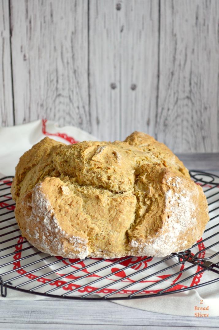 Pan de Soda Irlandés (Soda Bread)
