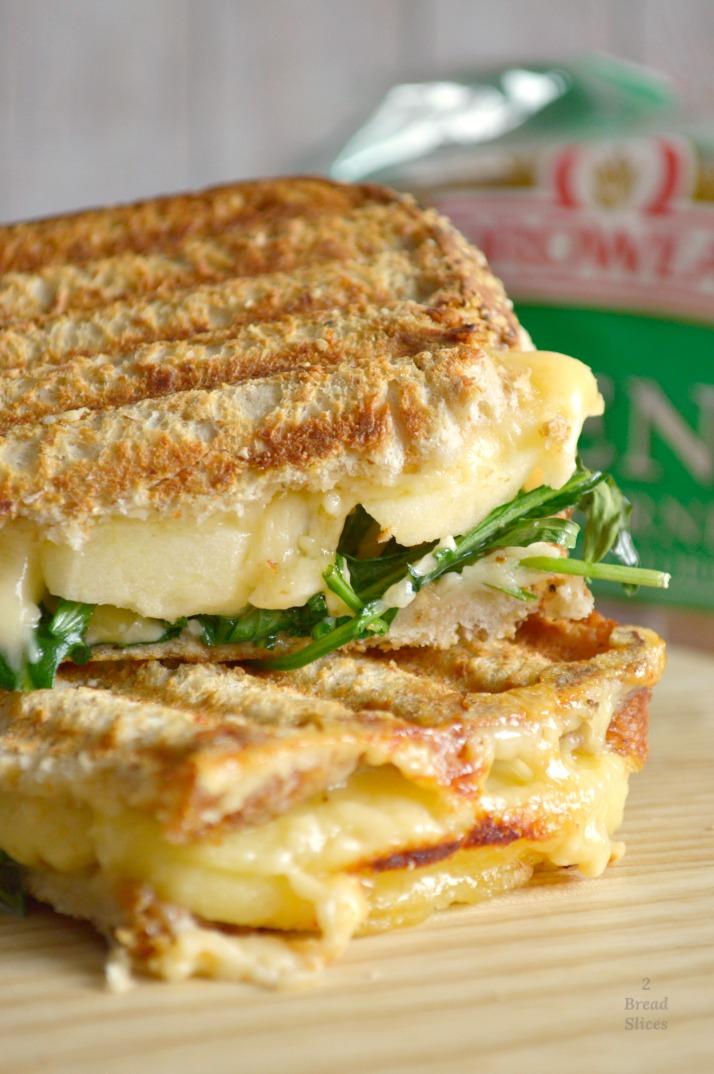 Sandwich de Manzana y Queso Gouda