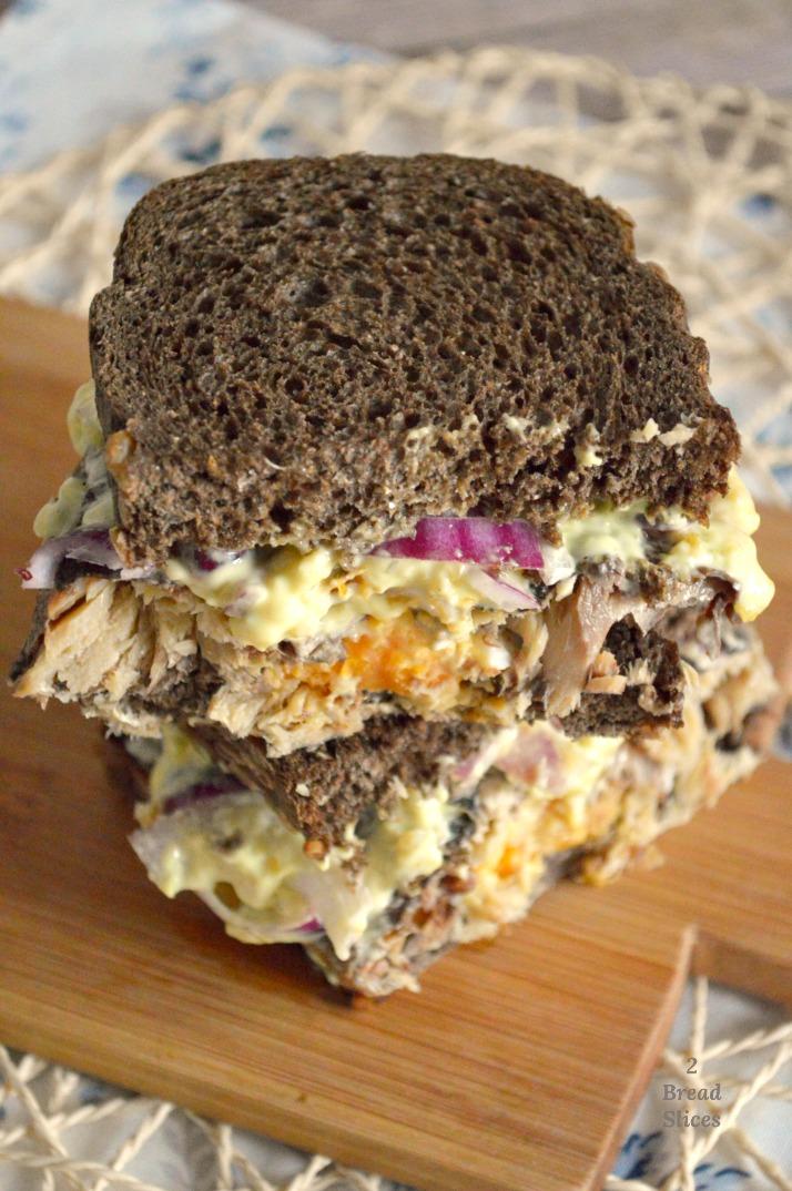 Sandwich de Arenques y Salsa Remoulade