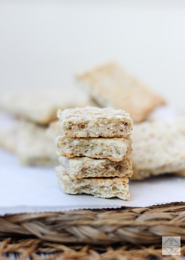 Crackers salados de avena