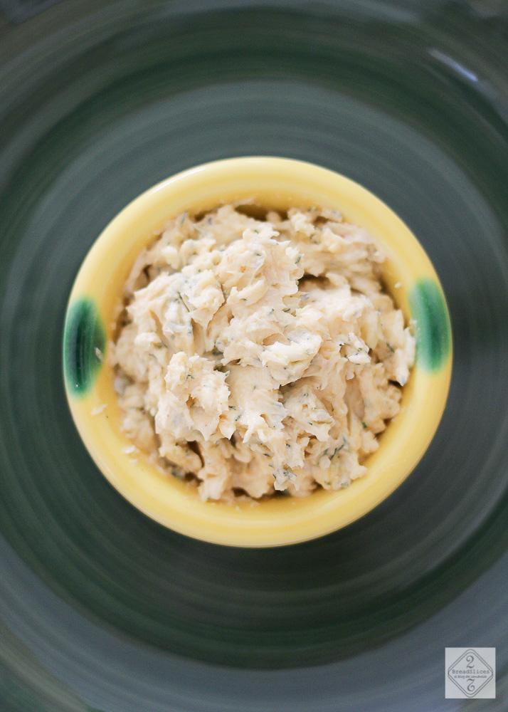 Mantequilla de mostaza y eneldo